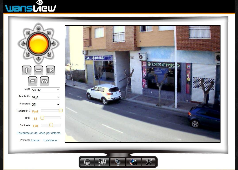 Demostración Wansview NCL616W 65º Resolución VGA