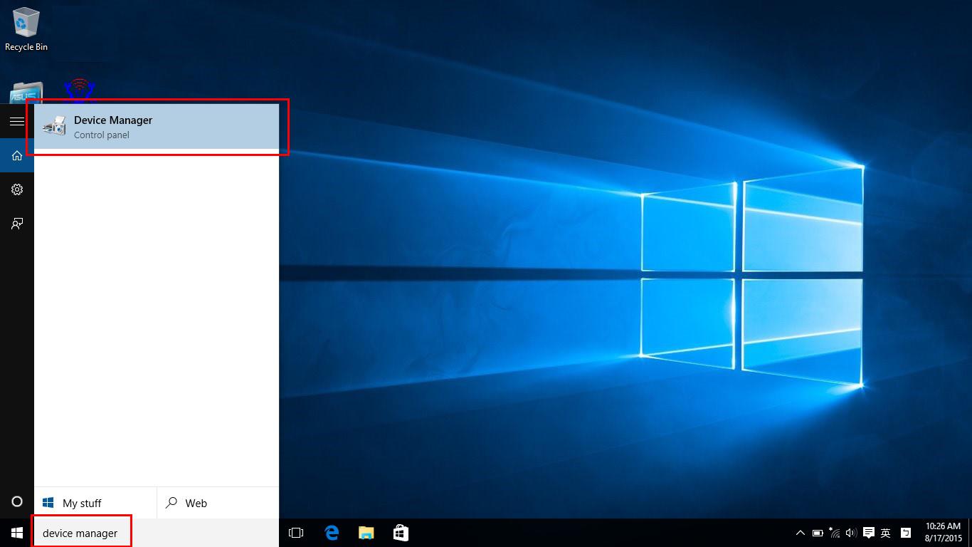descargar driver de wifi para windows 10