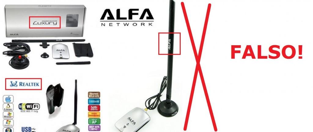 ALFA Luxury AWUS036H Falsa