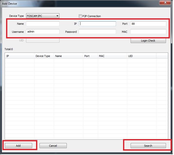 Software Foscam VMS - configurar cámaras IP