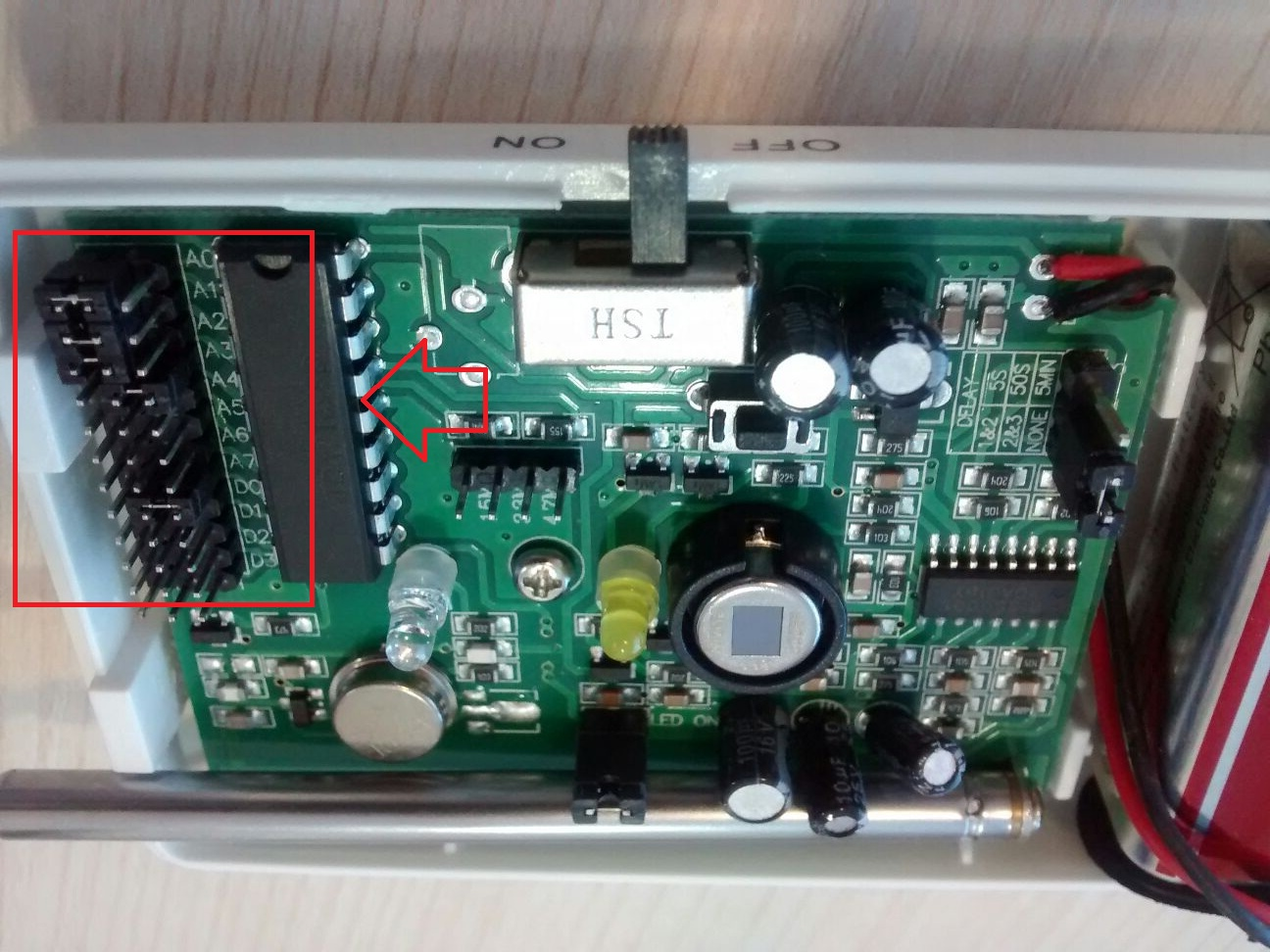 Codificación PT2262 AZ011 TEL99E