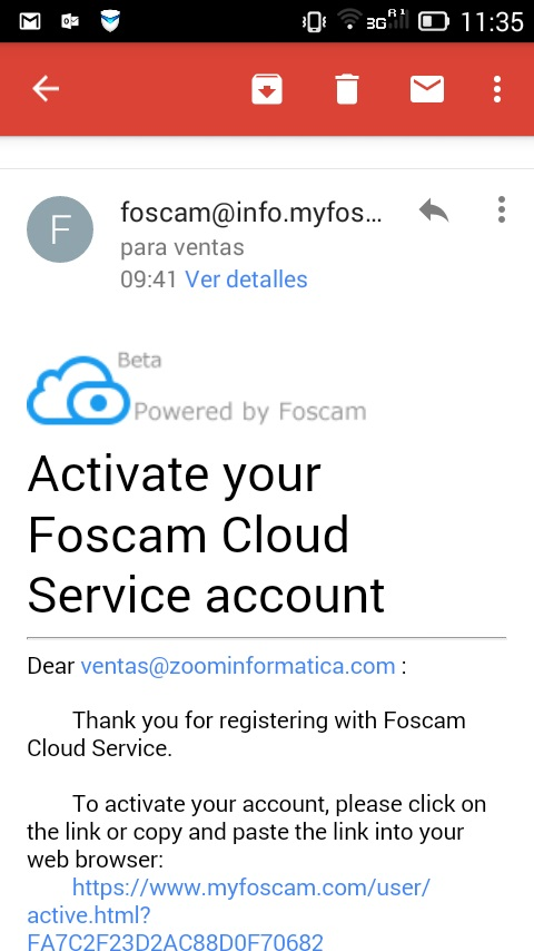 Tutorial APP Foscam - ZoomInformatica blog