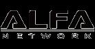 Logotipo alfa-network original