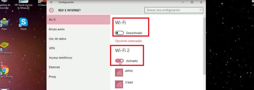 Configuración driver ralink rt3070 windows 10 WiFi