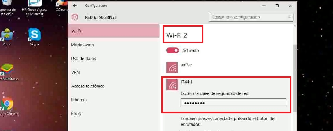 Windows 10: Configuración Ralink RT3070 Wireless driver para antenas