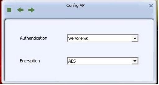 Configurar RT3070 en modo AP: modificar cifrado