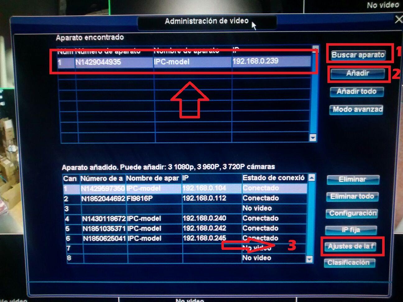 Como configurar grabadores NVR de cámaras IP para 8 y 16 canales ...