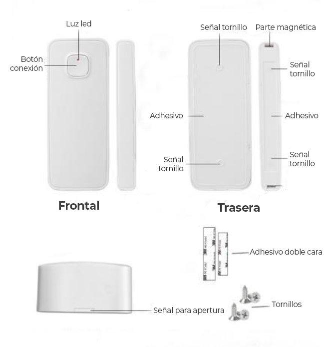 sensor apertura wifi