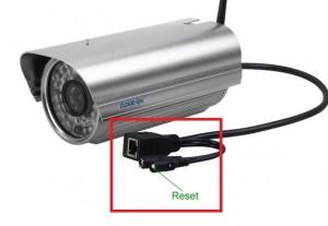 reset cámara ip exterior