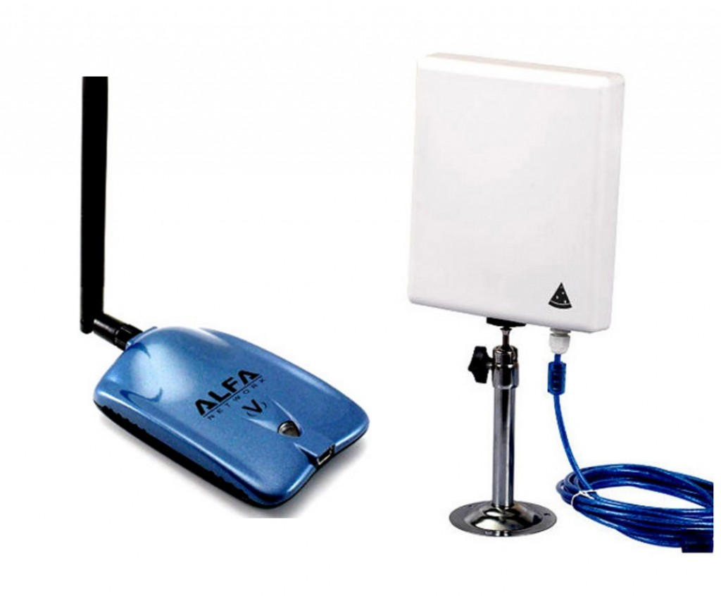 Modelos de antenas WiFi: omnidireccionales y direccionales