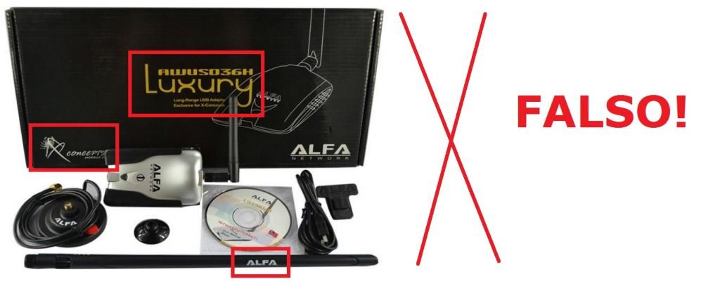 Detectar antena WiFi falsas alfa network