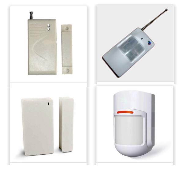 Detectores para alarma sin antena