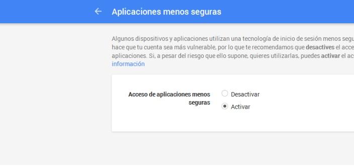 Foscam gmail: configuración app seguras