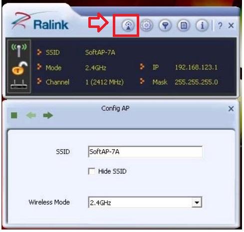 acceso configuración RT3070