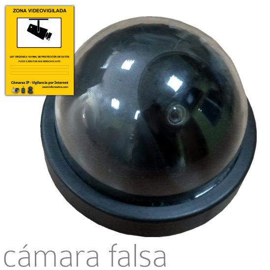 Cámaras de vigilancia falsa