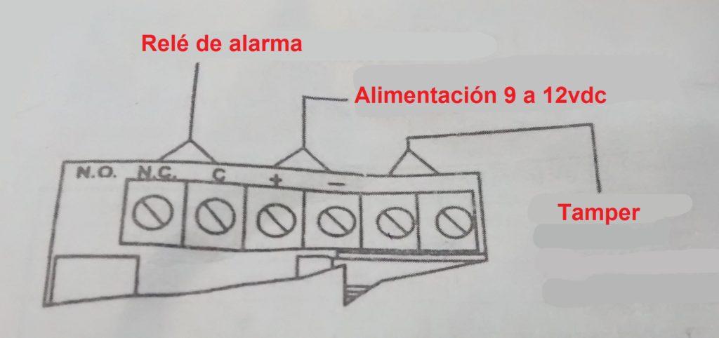 Instrucciones sensor 476