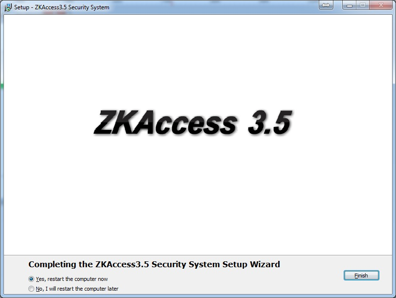 Software control acceso gratis ZKAccess 3.5