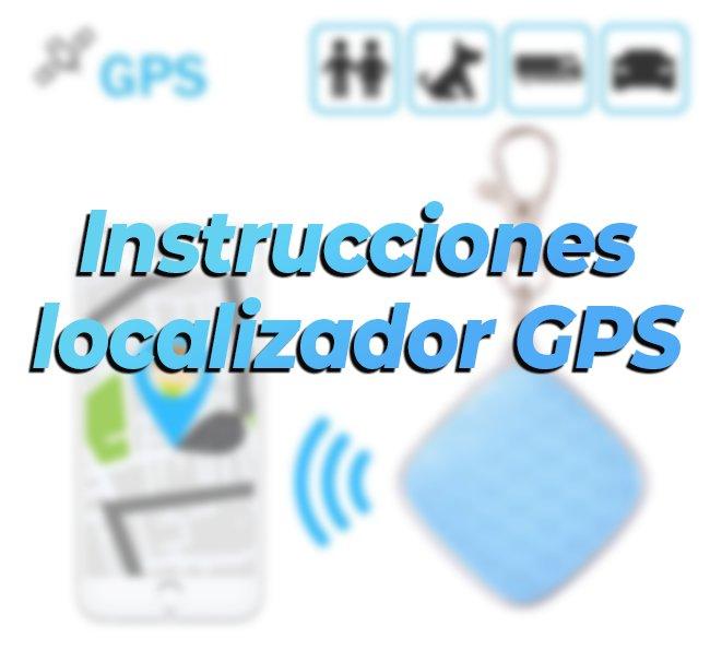 instrucciones localizador gps