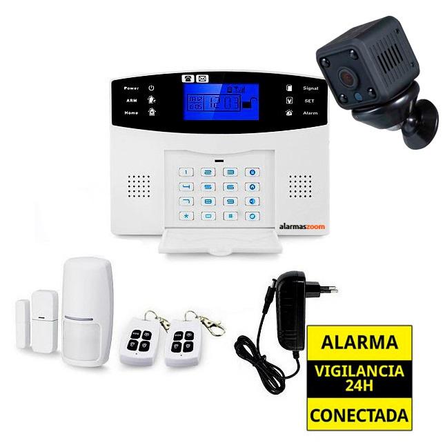 Kit alarma anti okupas con camara de vigilancia