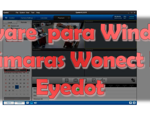 Software EyeDot para cámaras Wonect serie K
