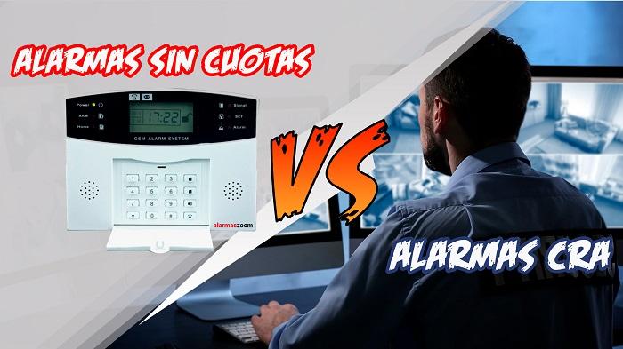Alarmas sin cuotas vs alarmas conectadas