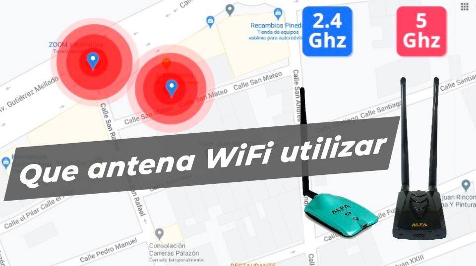 Blog Qué antena wifi usar según distancia