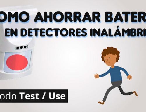 Como ahorrar baterías en los detectores inalámbricos de tu alarma